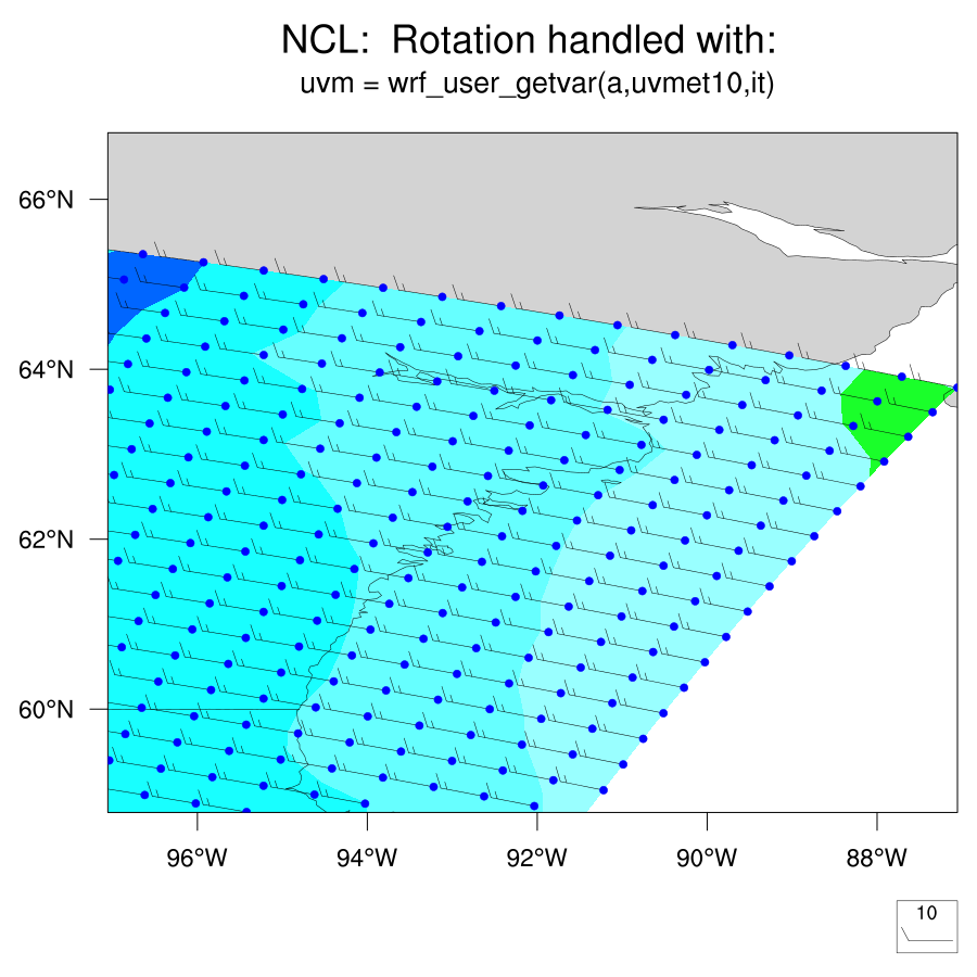 How to Properly Rotate WRF Winds to Earth-Relative Coordinates